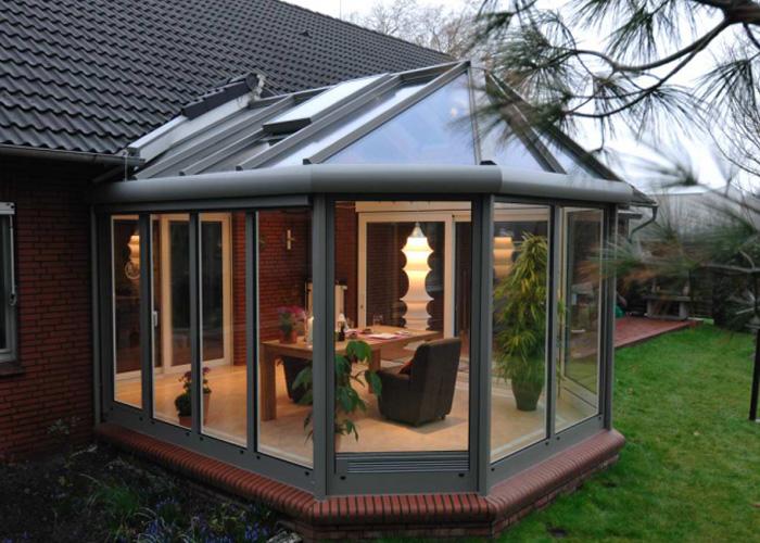 Giardino Dinverno Veranda : Giardini dinverno vf2 serramenti
