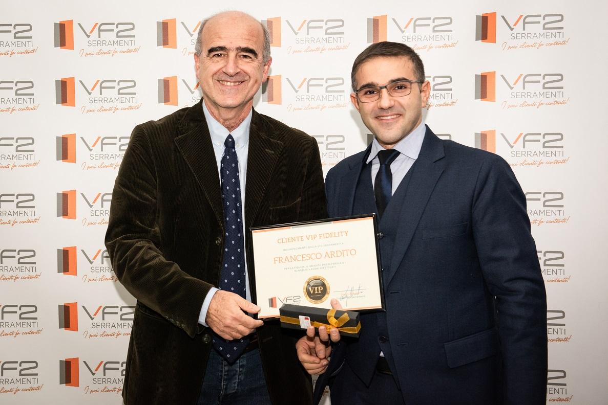 Vf2 Serramenti Riconoscimenti Francesco Ardito