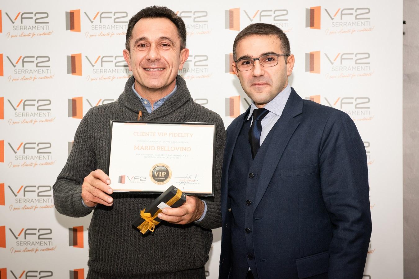 Vf2 Serramenti Riconoscimenti Mario Bellovino